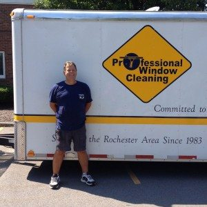 Owner of Professional Window Cleaning and Powerwash Inc. - Bob Provencher