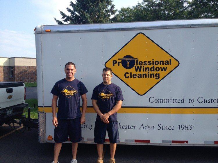 Mike and Robbie - Dedicated team associates