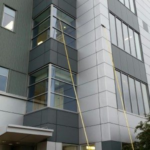 ProfessionalWindowCleaningandPowerwash Rochester NY, Cleaning 3rd Floor Windows with Pole Extension